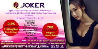 Promo Bonus Judi Sakong Online QJoker - www.Sakong2018.com
