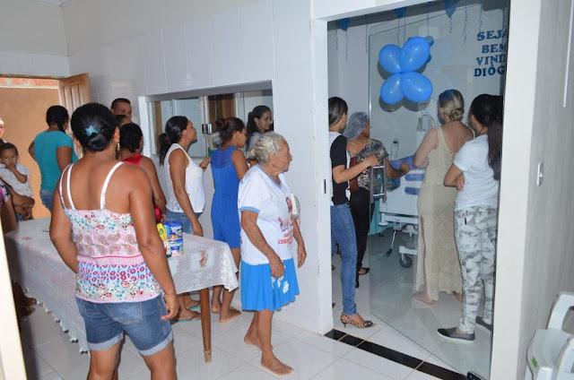 Menino Diôgo é recebido com muita emoção em casa nova em Formosa do Rio Preto