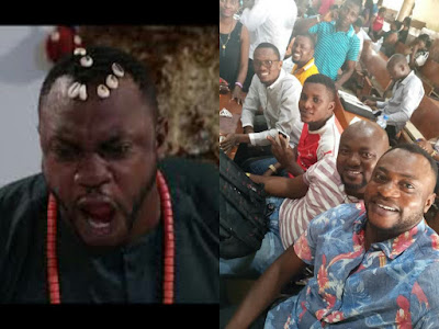 Photo of Odunlade with his UNILAG Coursemates