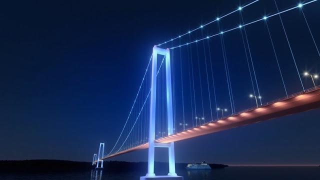 Chacao Suspension Bridge