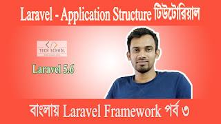Laravel Tutorial For Beginners Step By Step বাংলায় PHP Laravel Framework টিউটোরিয়াল পর্ব ৩ - Laravel Project Folder Structure পরিচিতি