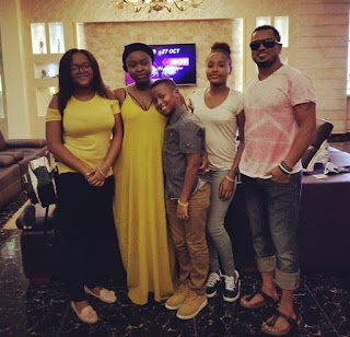 Ghanaian Actor, Van Vicker, Shares Beautiful Family Photo As He Wishes His Wife A Happy Birthday