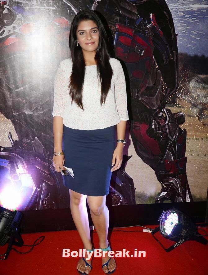 Pooja Gor, Asha Negi, Lauren Gottlieb, Shama Sikandar at Transformers Movie premiere