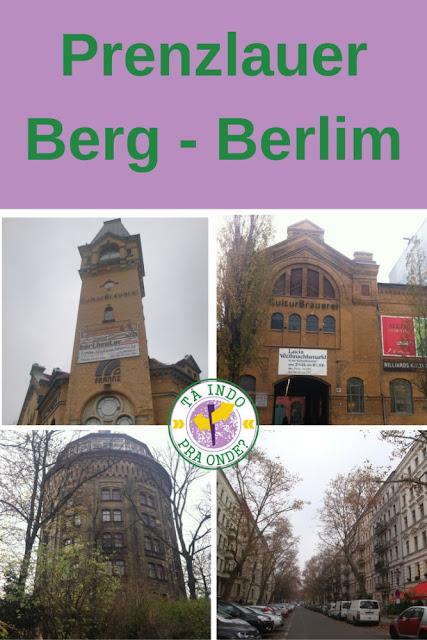 Prenzlauer Berg e Kulturbrauerei em Berlim