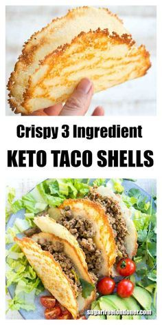 CRISPY LOW CARB KETO TACO SHELLS
