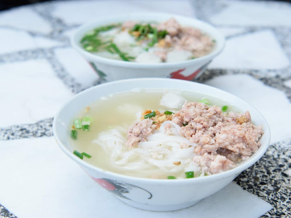 Lemon Koay Teow Soup 新园柠檬粿条汤 @ Bagan Lallang, Butterworth, Penang