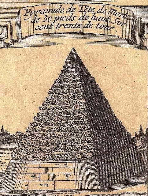 Η Πυραμίδα με τις κεφαλές στην Τρίπολη  ως τρόπαιο της εξόντωσης των Αλβανών
