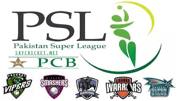 PSL 2017 Complete Schedule and Fixture