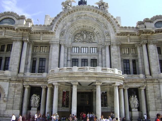 Palacio de Bellas Artes, centro histórico de la Ciudad de Mexico. Mexico