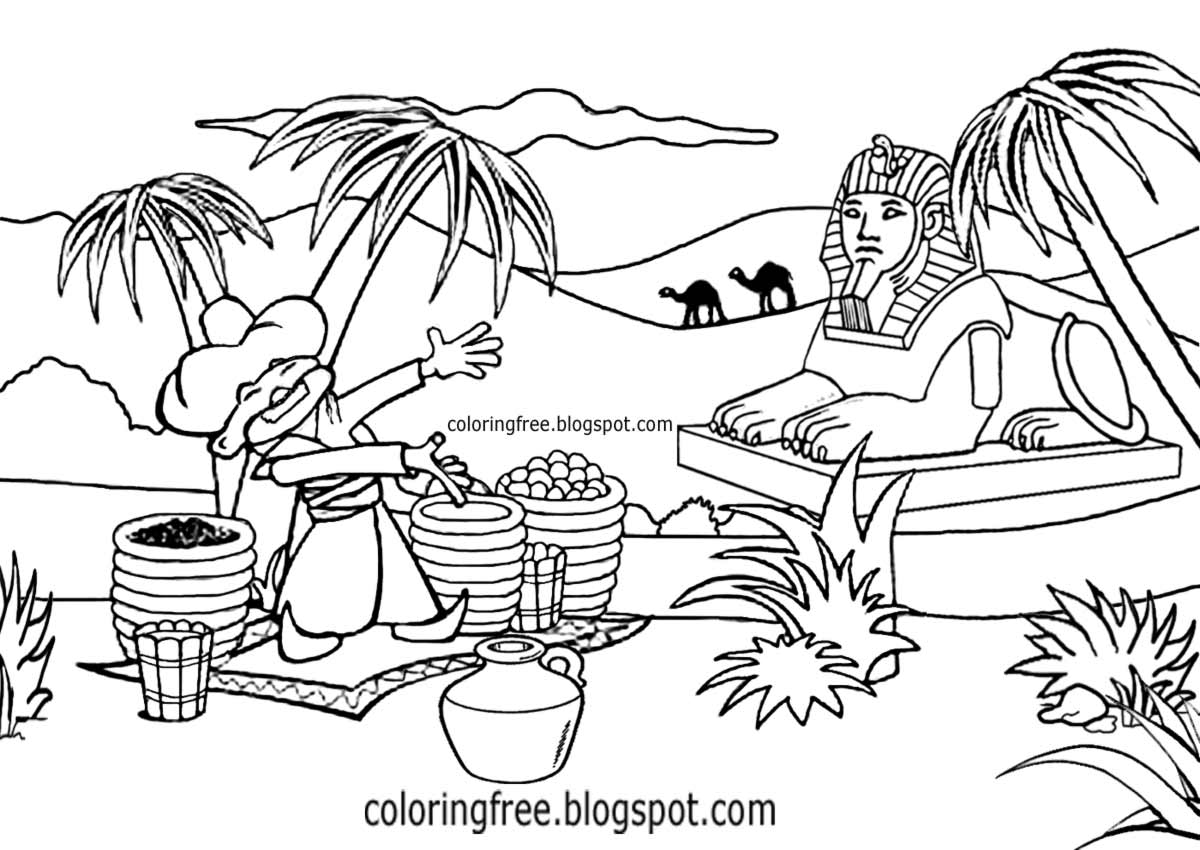 Free Printable Ancient Egypt Coloring Pages For Kids | Ancient ... | 850x1200