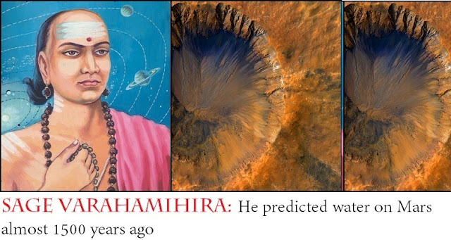He predicted water on Mars almost 1500 years ago