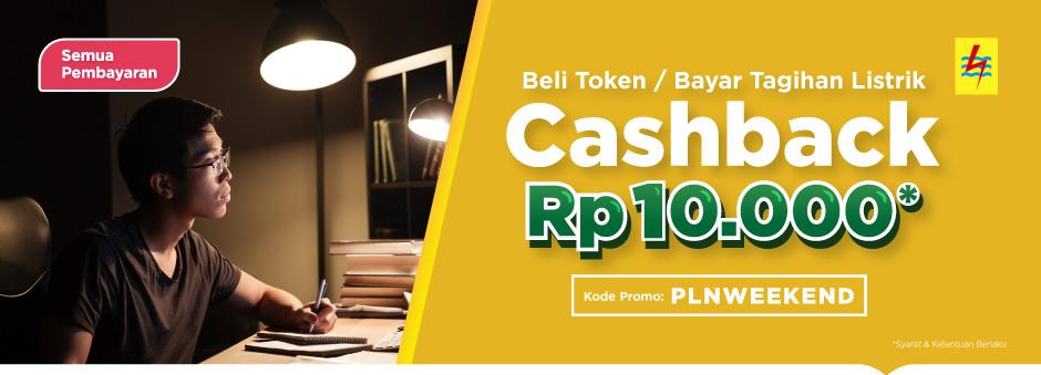 Tokopedia Promo Cashback 10000 Beli Token Bayar Listrik Pln Katalog Promo Terbaru