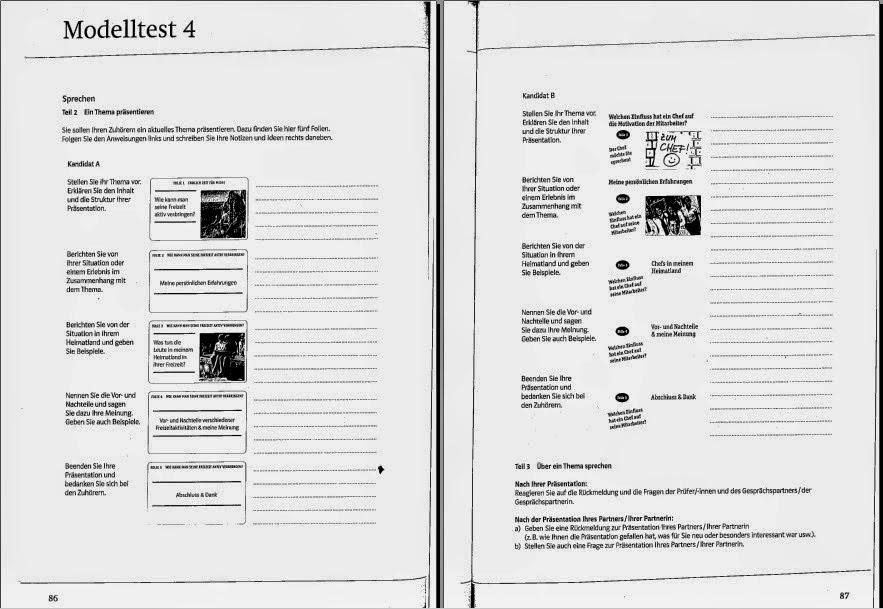 Deutsch lernen: Mit Erfolg zum Goethe-/ÖSD-Zertifikat B1 2014