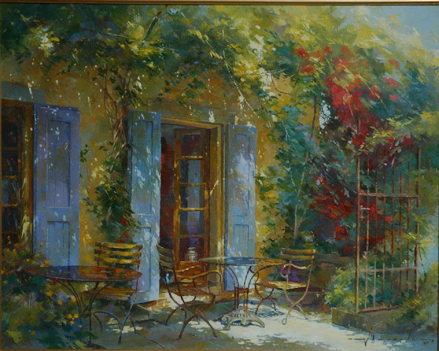 Johan Messely 1927 | Belgian painter | The Secret Gardens