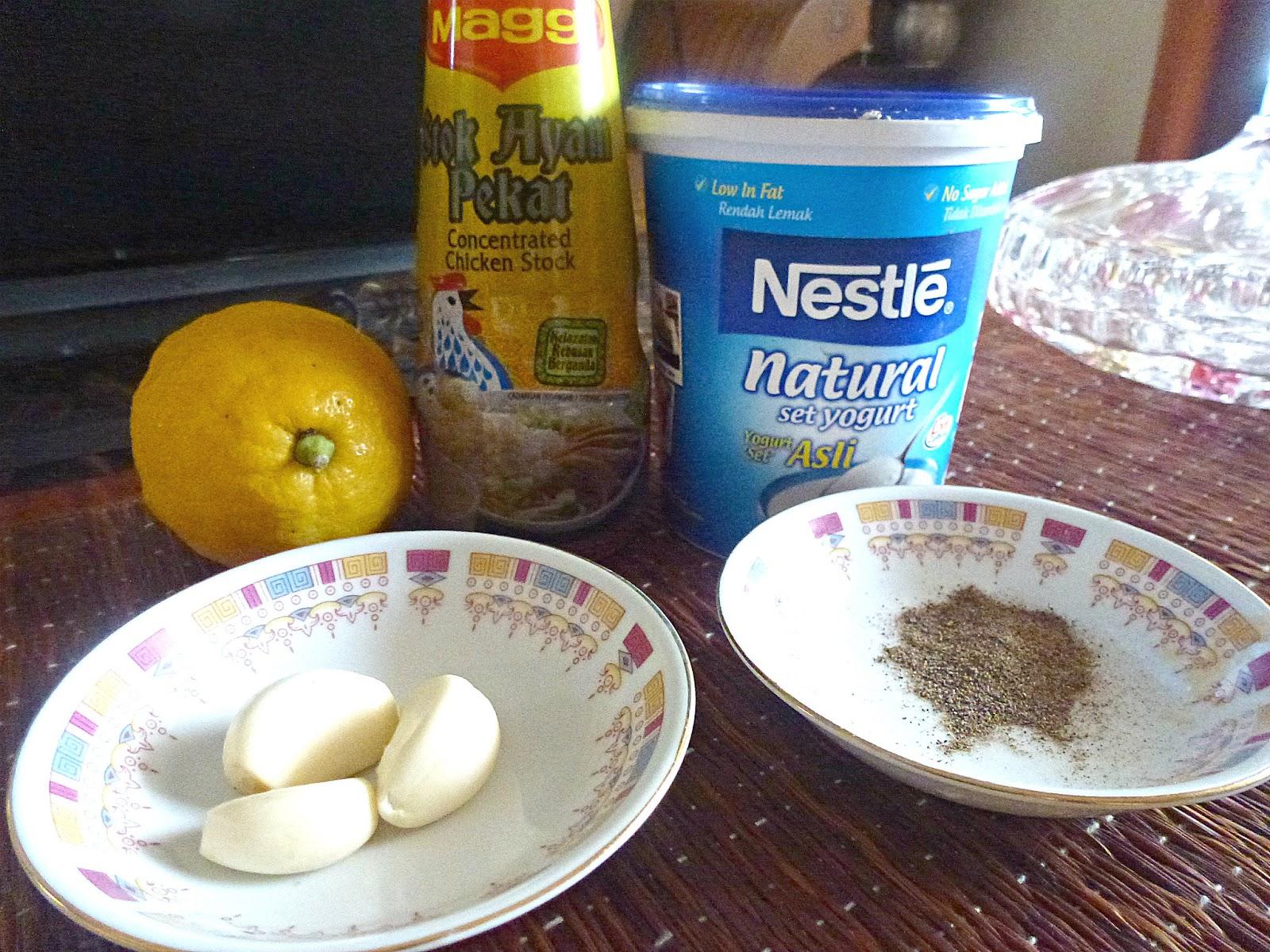 tertunailah hasrat  hati resepi ayam vindaloo masakan berkhasiat menggunakan nestle yogurt Resepi Maggi Kari Santan Enak dan Mudah