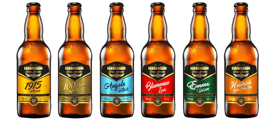 Hemmer lança linha de cervejas artesanais com seis estilos