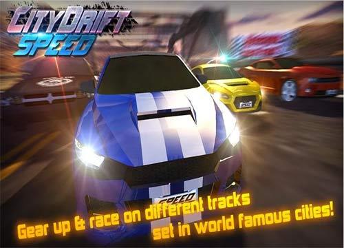 لعبة سيارات السباق السريع Speed Car Drift Racing للتابلت