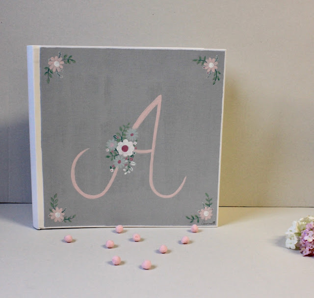 álbum de fotos infantil y personalizado , pintado a mano