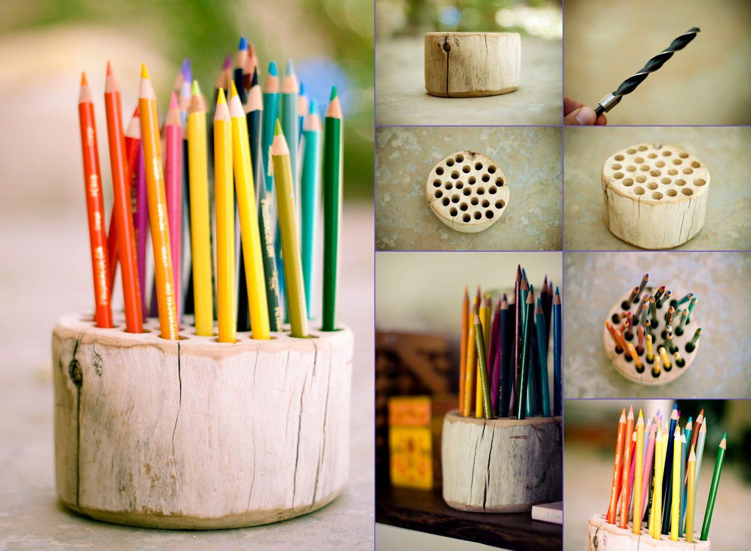 Bekas Tempat Letak Pen Dan Pensil Yang Sangat Menarik Hasil Kreatif