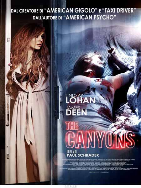 [18+] The Canyons 2016 BRRip 720p 700MB Poster