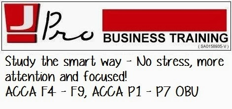 ACCA/CAT Notes for Sunway University College Chapter 5 | Jay's Audit