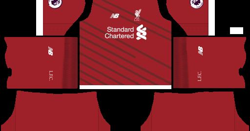 Kit Liverpool Dls 18 Liverpool FC 201819 Kit Dream League Soccer