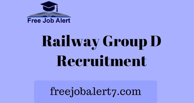 Railway Group D Recruitment 2019, RRC 103769 Group D Vacancy 2019