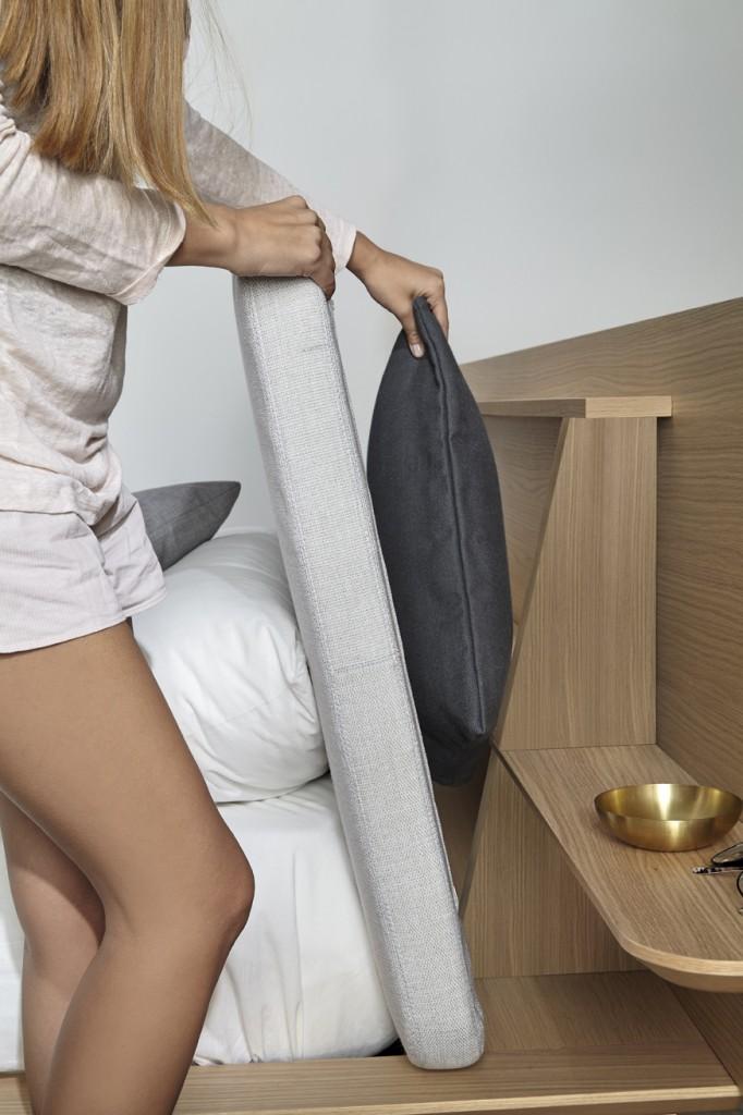 Ciekawy projekt łożka