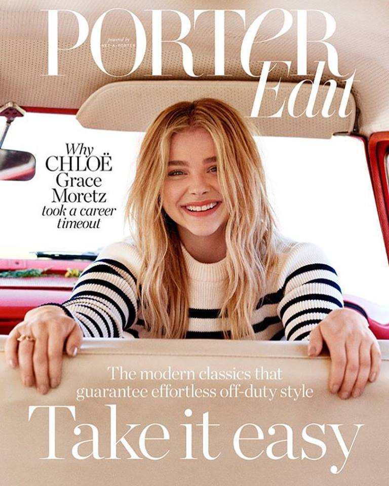 Chloë Grace Moretz for Porter Edit August 17th 2018