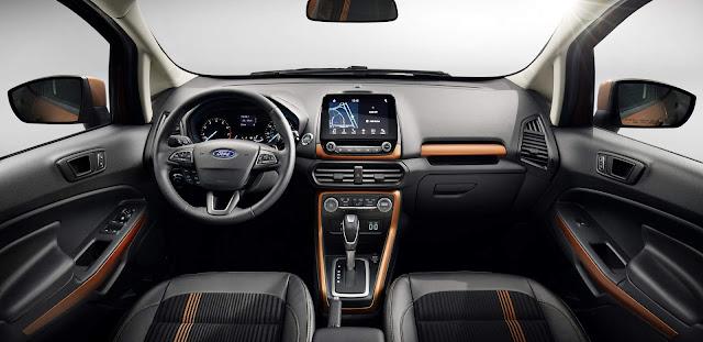 Novo Ford EcoSport 2018 - interior - painel