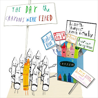 Based on the day The Crayons Quit by Daywalt and Jeffers, Republicans, Trump