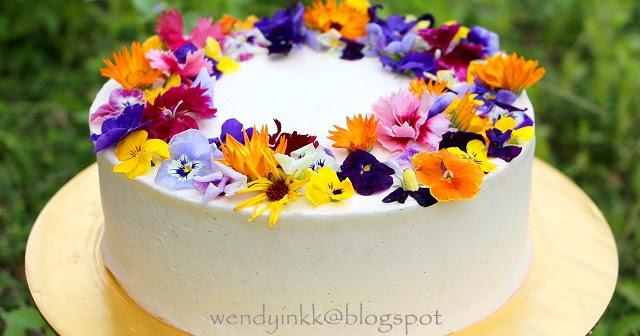 Floral Cake Recipe