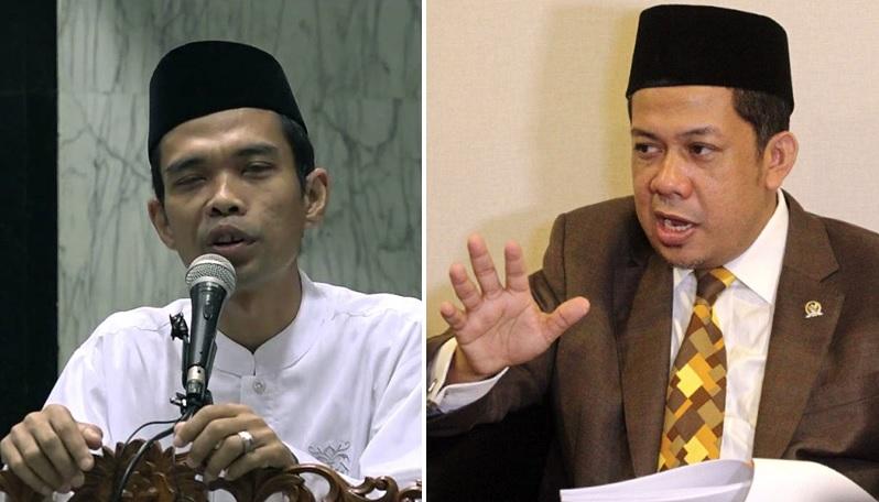 Ustadz Abdul Somad - Fahri Hamzah