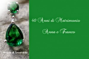 Il Matrimonio Di 40 Anni Di Matrimonio Nozze Di Smeraldo