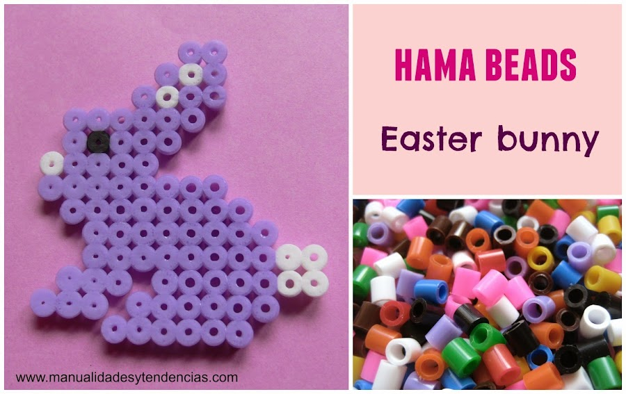 Hama beads easter bunny