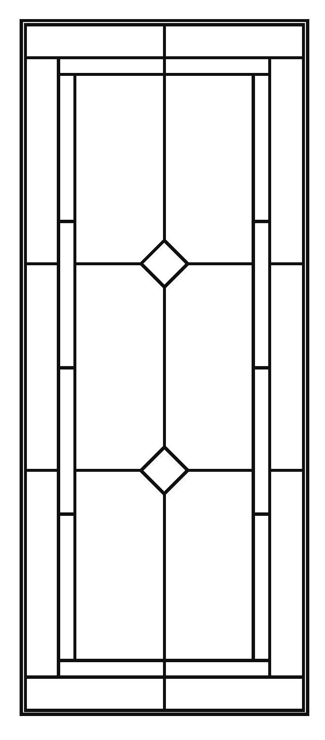 Simple Stained Glass Window Designs