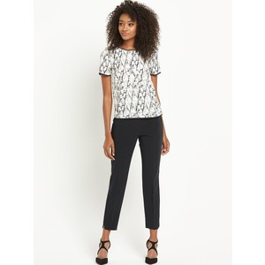 abstract printed boxy top by Definitions Definitions