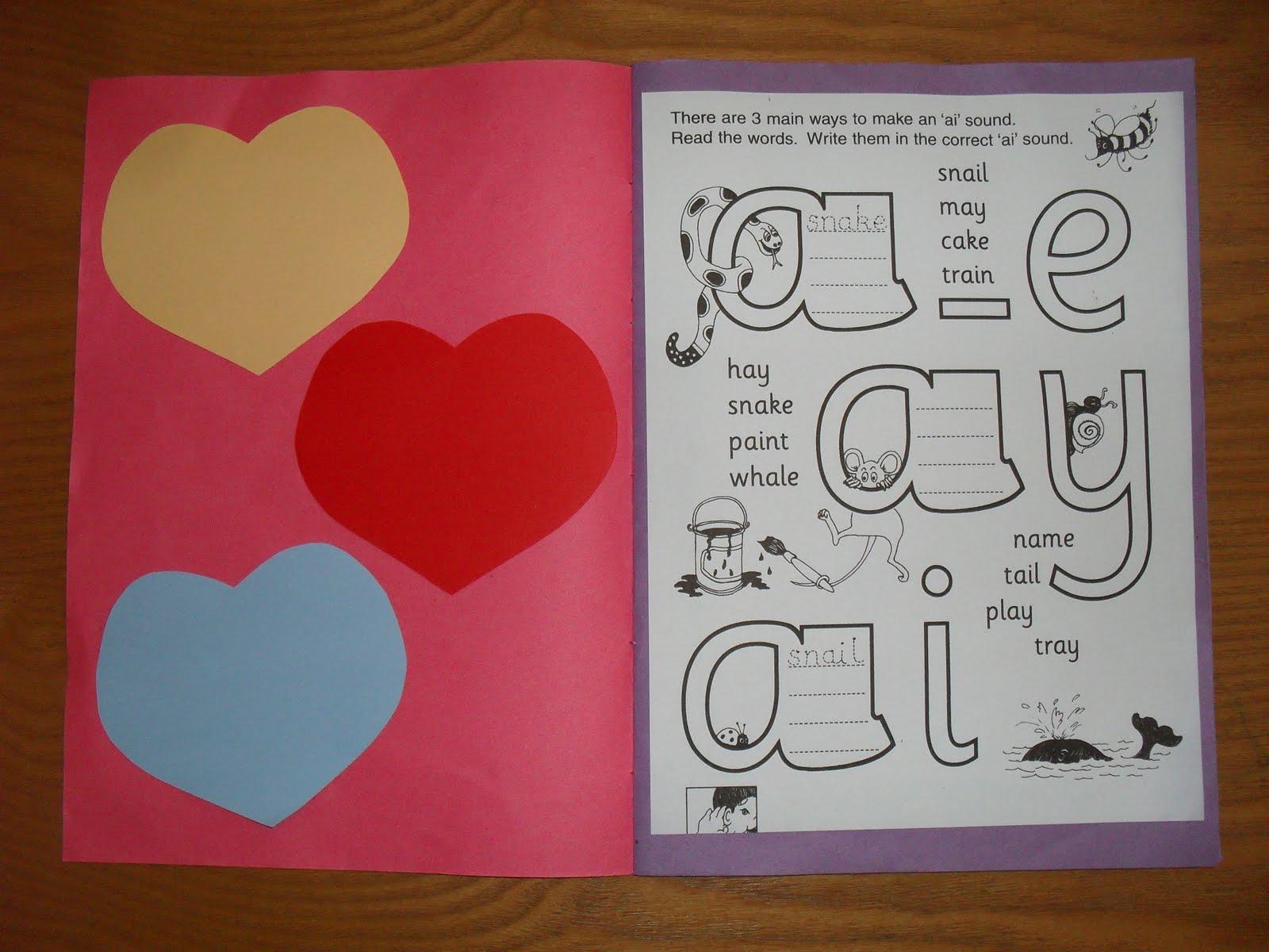 A Muslim Homeschool Jolly Phonics Alternative Spellings Of Vowels