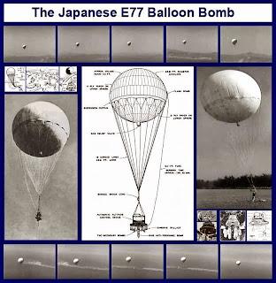 E77 balloon bomb
