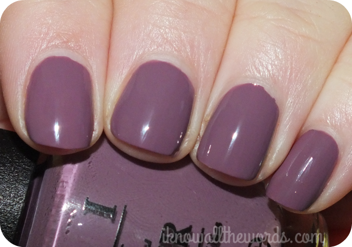 OPI Miss Universe Collection- I'm Feeling Sashy*