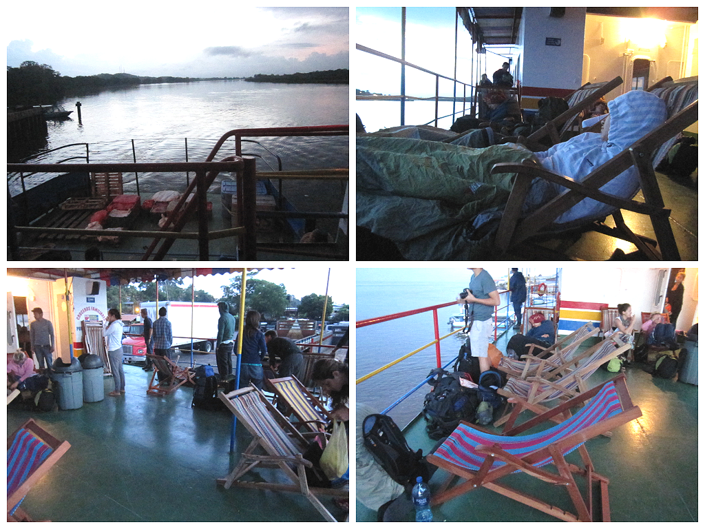 Ferry a San Carlos