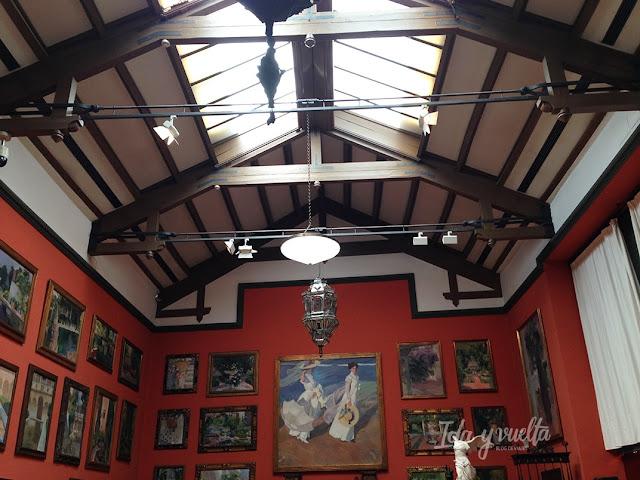 Museo Sorolla estudio del pintor
