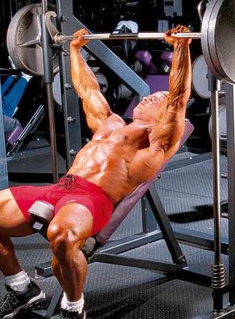 تمارين عضلات الصدر للمبتدئين