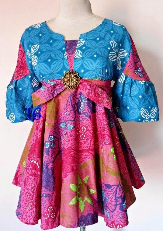 Gambar Model Baju Batik Ibu Hamil terbaru