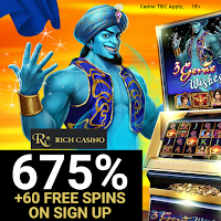 Rich Casino Welcome Offer