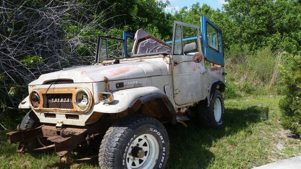 Barn Find Land Cruiser 1970 FJ40 For Sale $2,000