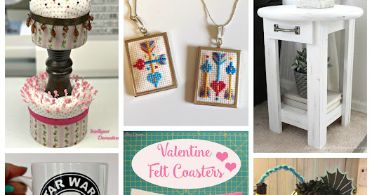 Valentine's Craftastic Monday Link Party