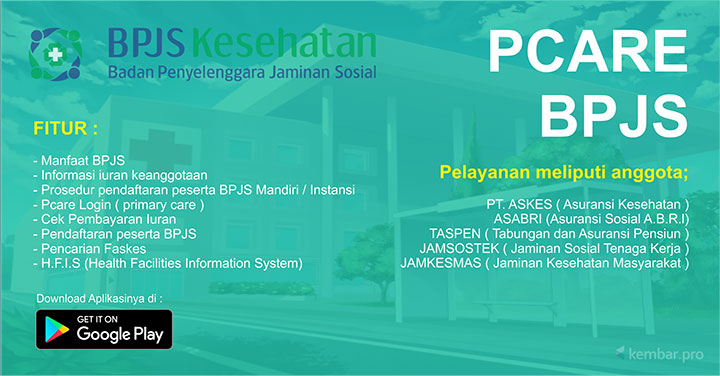 Primary Care (Pcare) BPJS Kesehatan