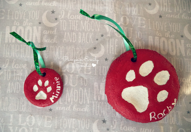 Dog Paws Ornaments