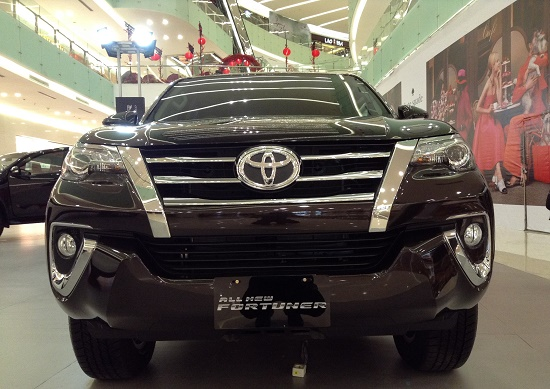 Toyota All New Fortuner black